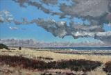 Coastal view by Steen Lersten Petterson, Painting, Acrylic on canvas