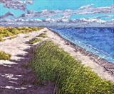 My Favorite Stretch of Beachland by Steen Lersten Petterson, Painting, Acrylic on canvas