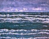 Seascape by Steen Lersten Petterson, Painting, Acrylic on canvas